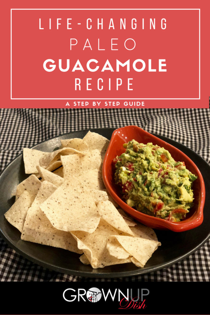 Life-Changing Paleo Guacamole Recipe - This super quick and easy guacamole recipe will quickly become one of your favorite dishes. Be sure to use fresh cilantro and Jalapeno - it's important. | www.grownupdish.com