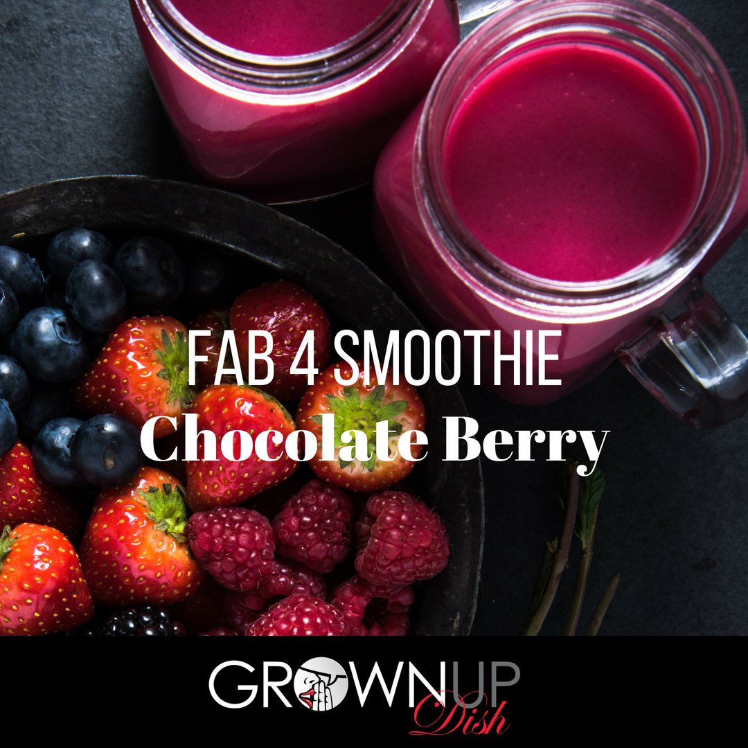 Chocolate Berry Fab Four Smoothie