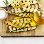 This is the BEST healthy and easy grilled squash recipe. If you don't have a grill, you can easily make it in a grill pan on the stovetop. Simple & yummy! | www.grownupdish.com