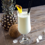 Like a tropical vacation in a glass, piña coladas can be decadent and high-calorie. But don't cut yourself off -- skip the sugary mixes, break out the blender and try this cleaner and slimmed-down healthy collagen piña colada recipe. Or omit the rum and turn it into a healthy pina colada smoothie or mocktail. | www.grownupdish.com