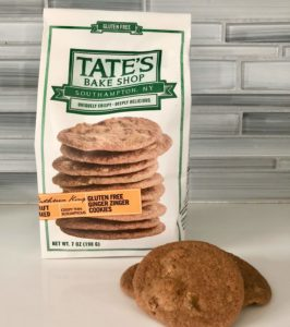 An unbiased review of Tate's gluten-free cookies by Grownup Dish. Are they as good as the regular crunchy buttery Tate's cookies that have a cult following? | www.grownupdish.com
