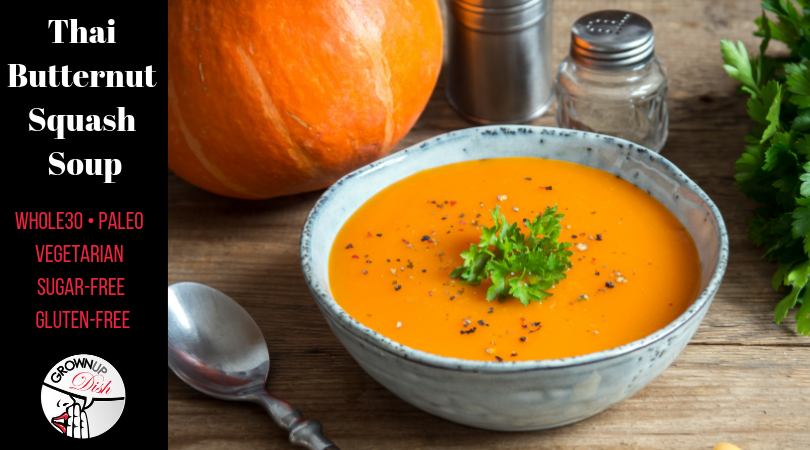 Thai Butternut Squash Soup – Whole30