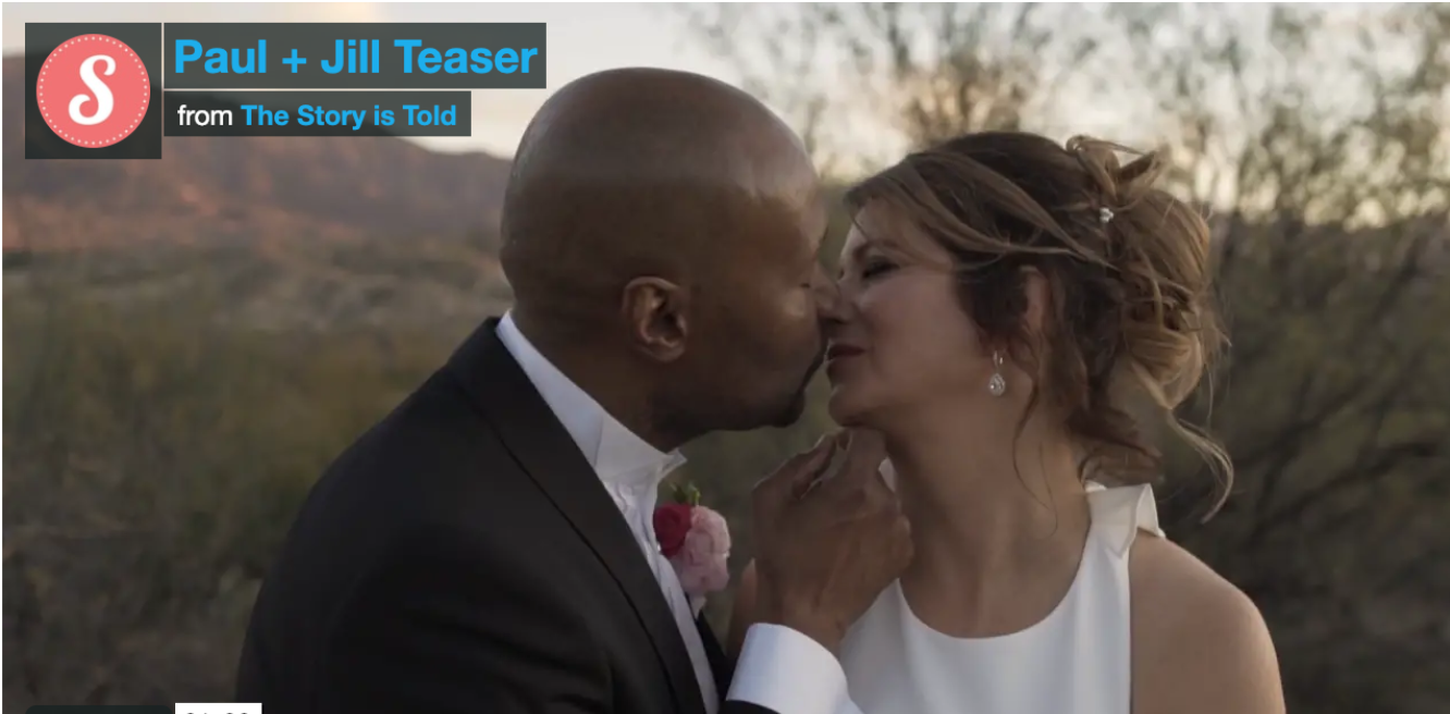 Video: Jill and Paul Get Married
