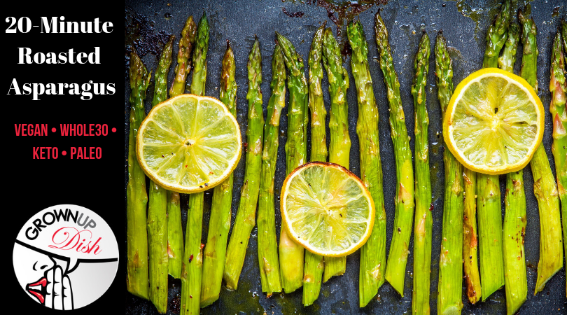 Oven Roasted Asparagus – Whole30