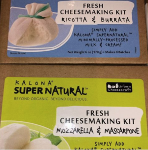 Kalona Supernatural Fresh Cheesemaking Kits