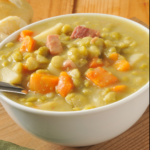 If winter is getting you down make Easy Peasy Split Pea Soup! It's hearty, comforting, packed with vegetables and it's gluten and sugar-free. Instant Pot or stovetop recipe. | www.grownupdish.com