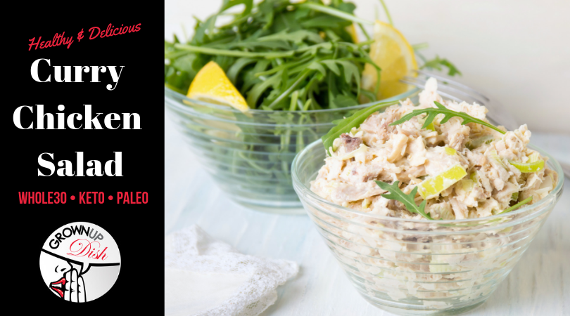 Curry Chicken Salad – Whole30