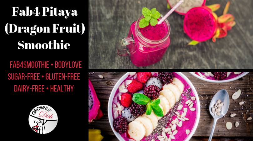 Pitaya (Dragon Fruit) Fab4 Smoothie