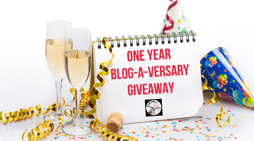 One Year Blog-A-Versary Giveaway
