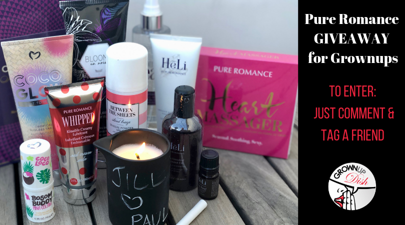 Pure Romance Spring Giveaway for Grownups