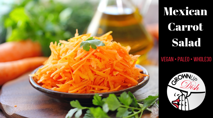 Mexican Carrot Salad