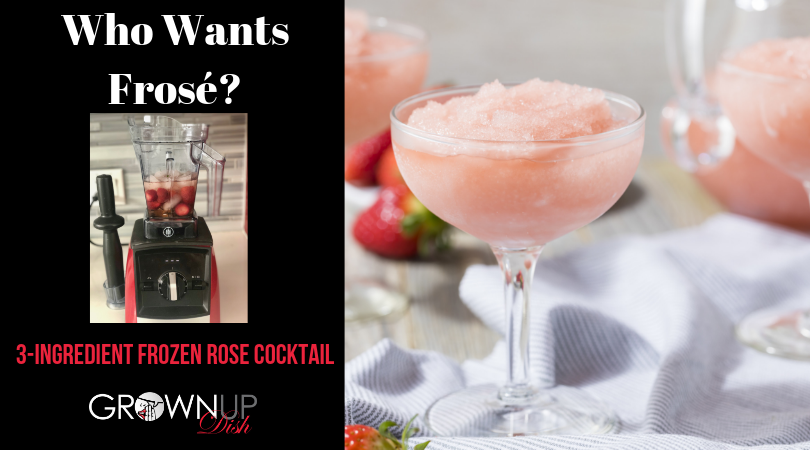 Frosé – Frozen Rosé Cocktail