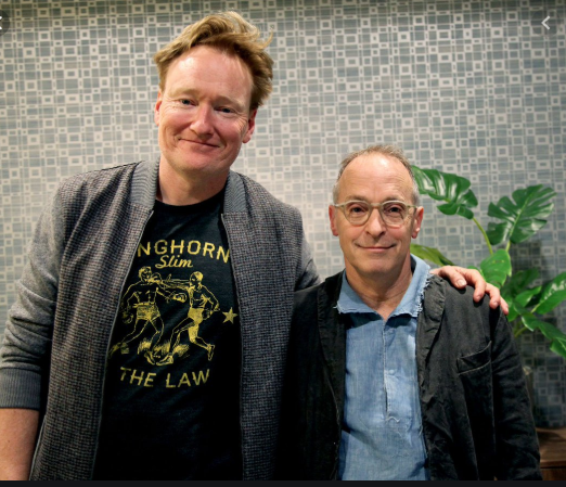Conan O'Brien and David Sedaris