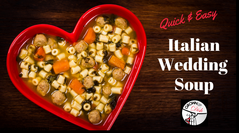 Italian Wedding Soup With (Optional) Meatballs