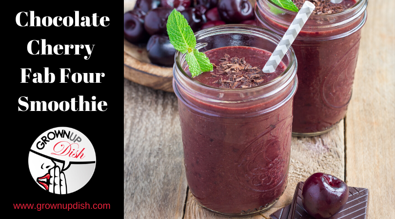 Chocolate Cherry Fab Four Smoothie