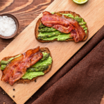 If you haven't had avocado toast topped with bacon, do you even brunch? It's the quintessential brunch dish and it's so versatile when you add toppings. | www.grownupdish.com