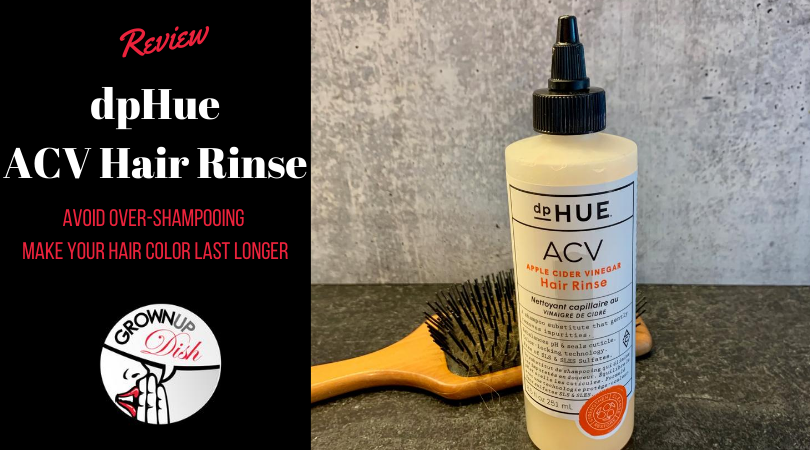 Tried It – dpHue Apple Cider Vinegar ACV Hair Rinse Review