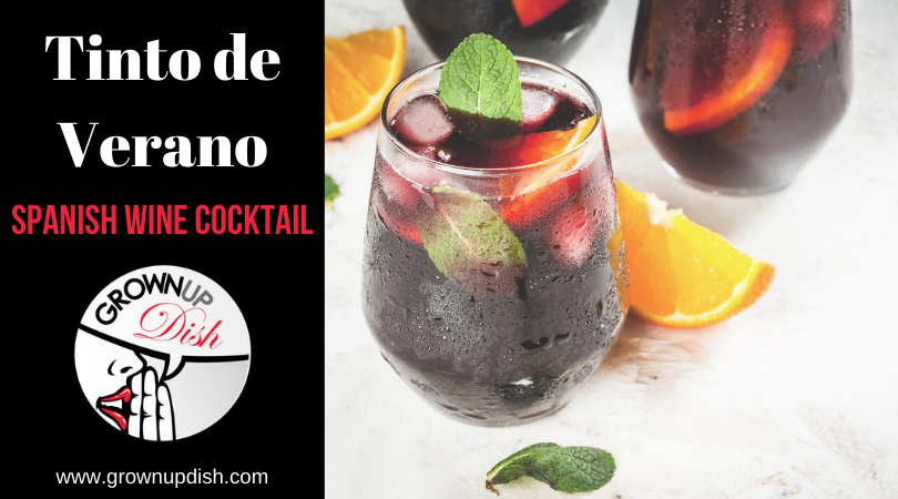 Tinto de Verano Spanish Wine Cocktail