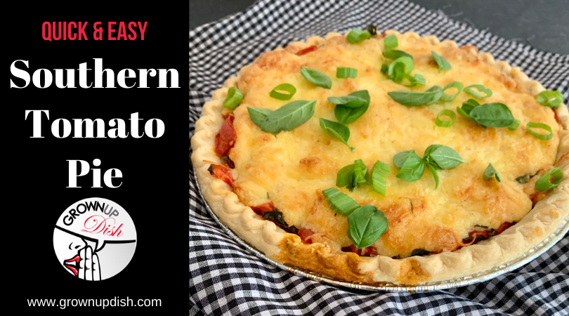 Quick & Easy Southern Tomato Pie