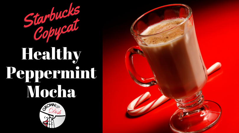 Starbucks Copycat – Healthy Peppermint Mocha