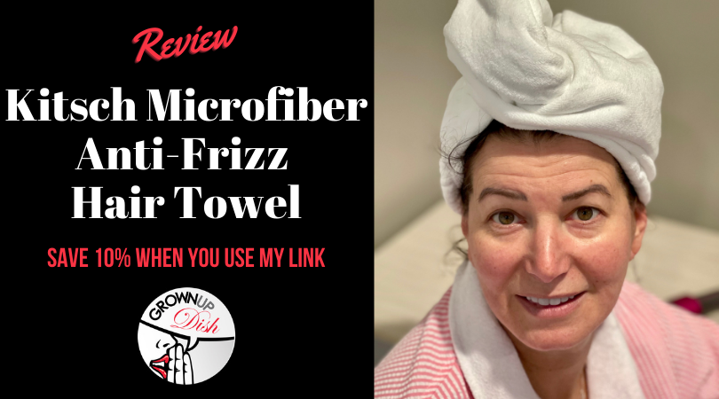 Tried It – Kitsch Microfiber Hair Towel Review