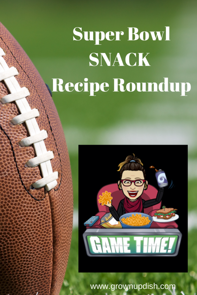 A roundup of the best Super Bowl Snack Recipes for grownups. Most are healthy-ish. All are delicious and easy to make. | www.grownupdish.com