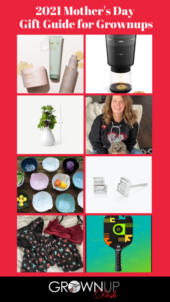 2021 Mother's Day Gift Guide for Grownups - products & gift ideas for your favorite female (or for yourself) at every price point. Discount codes & freebies too! | www.grownupdish.com