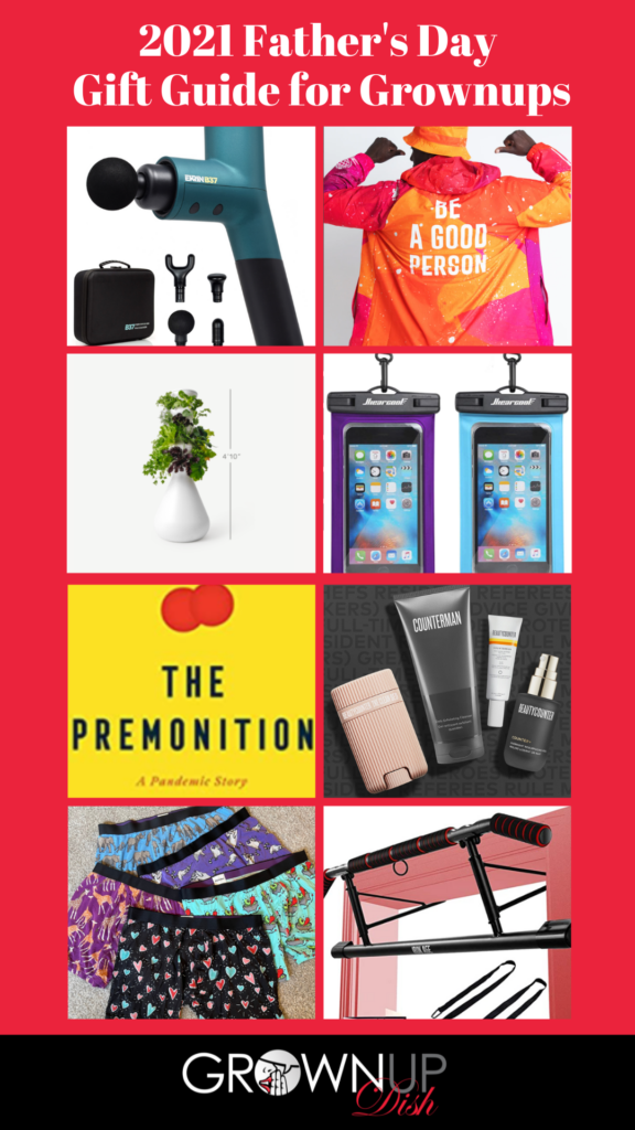 Independently reviewed 2021 Father's Day Gift Guide for Grownups. Products at every price point. Discount codes to save you money! | www.grownupdish.com