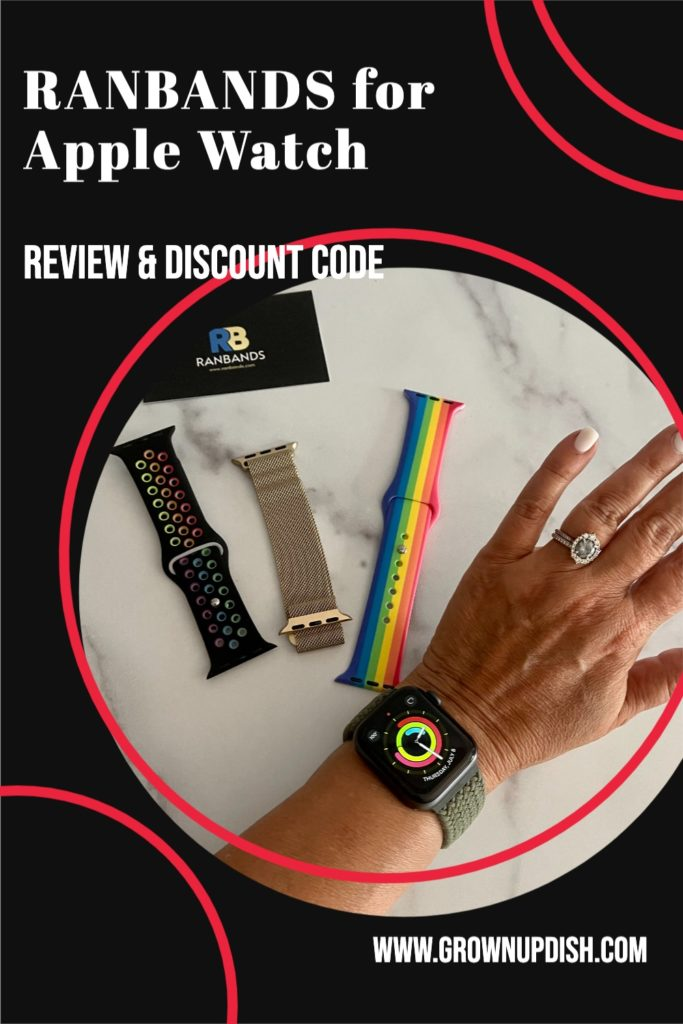 Looking for cute and inexpensive bands for your Apple Watch without the big price tag? Read my unbiased review and use my discount code for 20% off.   www.grownupdish.com