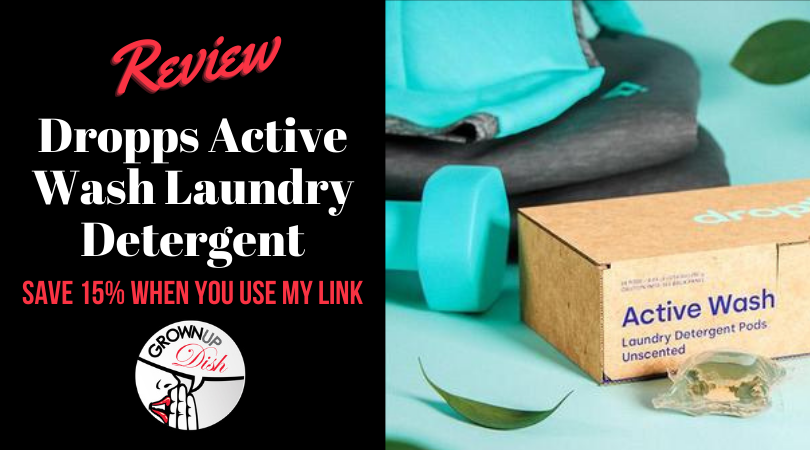 Dropps Active Wash Laundry Detergent – Review & Discount Code